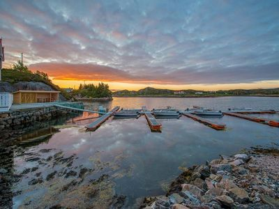 Holiday house directly on the fjord for 8 persons with panoramic view