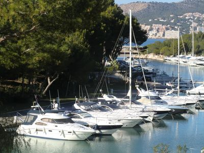 Modern apartment on the marina of Santa Ponsa for 6 people