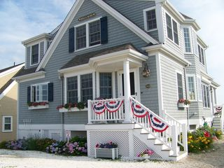 East Sandwich house photo - Bella Mare All Dressed Up for the 4th of July Celebration!