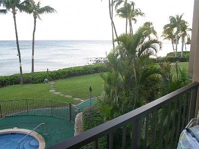 Watch whales play from your private lanai!