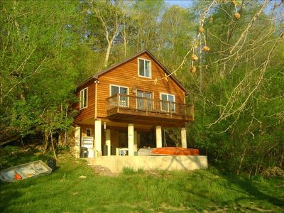Private Luxury River Cabin On The Bank Of The Vrbo