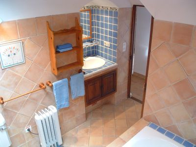 Fornalutx cottage rental - Esqueredo: Master Bathroom