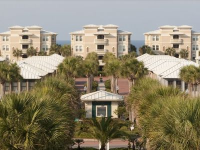 Rosemary Beach condo rental - Welcome to Cousins' Cabana, a gated secured condo in the Villas of Sunset Beach.