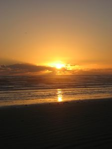 Sunrise at New Smyrna Beach