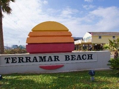 we are located on the sw corner of Terramar beach across from the Beach & Ocean