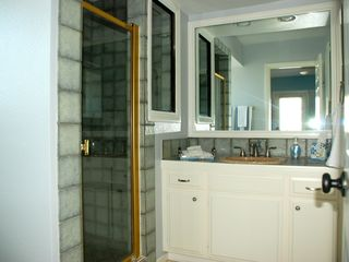 Oxnard house photo - En suite bathroom with walk in shower.