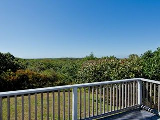 Chilmark house photo - Ridge Top View From The Deck Toward The Water