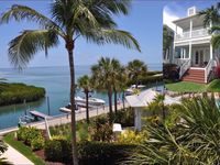 Islamorada Oceanfront Home In Anglers Reef Ocean Views, Dock, Comm Pool & Beach