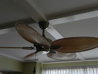 Palmetto Dunes condo photo - Only condo with ceiling fans. One in great room and one in the master bedroom.