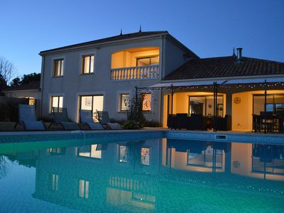 Luxury Vendee Villa with Private heated salt water pool