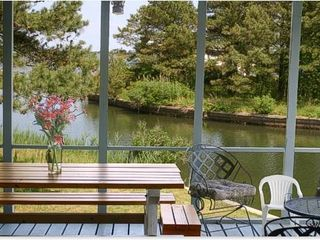 Chincoteague Island house photo - Screened Porch on Vacation house on water