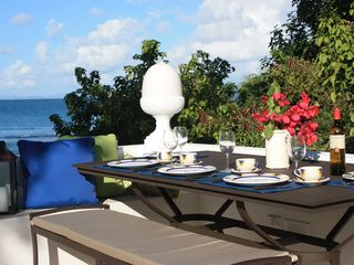 Vieques Island house photo - Dine on private deck