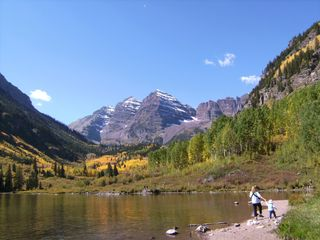 Basalt house photo - Maroon Bells
