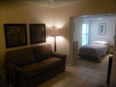 2nd Bedroom incl. 2 twin beds, walk in closet and den w/ desk and sleep sofa.