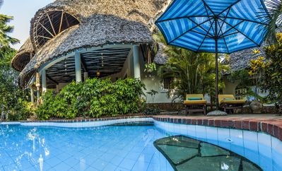 image for Large luxury beachside villa with a pool, guesthouse, cook, gardener, and maid