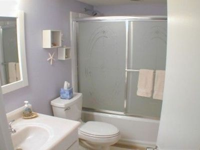 Renovated and New Bathroom