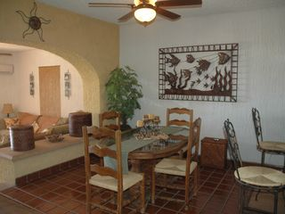 San Jose del Cabo condo photo - Dining room (has view of ocean)
