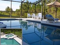 Luxury Family Villa Private Pool Backing Onto Forest Near Disney
