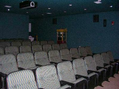Movie theater -- rent it out to have a family/friend movie night!