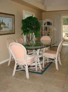 Sanibel Island house rental - Dining Area