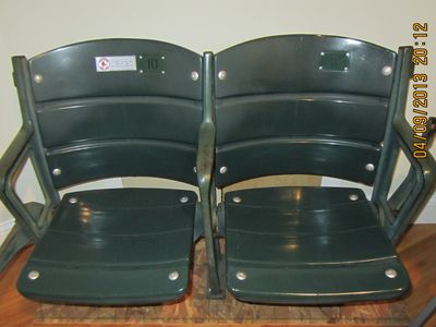 Take your picture in our original Fenway seats!