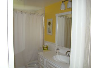 Old Naples apartment photo - Bathroom with tub/shower