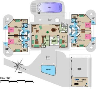 Kona Villa Floor Plan #1
