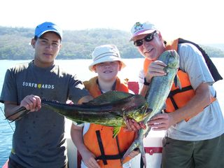 Playa Hermosa house photo - Catch of the day (Mahi Mahi) 2 hours snorkeling and 2 hours fishing around $200