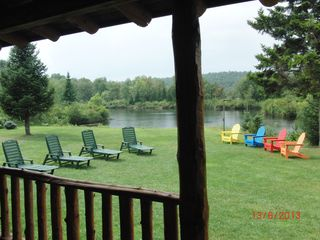 view from porch - Colton cottage vacation rental photo
