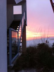 Inlet Beach house photo - entry looking west from carport. Great spot for weddings.