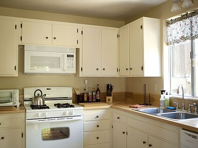 Newly remodeled kitchen with amenities