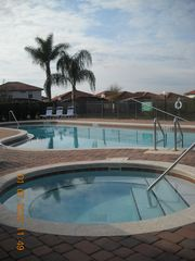 Kissimmee villa photo - Club house swimming pool with heated spa