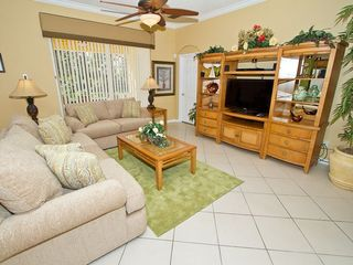 Family lounge - Emerald Island villa vacation rental photo