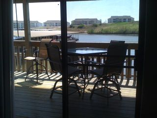 Lake Ozark condo photo - Deck on 231A
