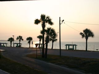 Panama City townhome photo - The front yard is a state beach