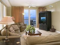 Gorgeous Beach Front Read R Reviews 3 sided corner Unit C Dolphins from Balcony