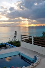 Isla Mujeres villa photo - CAN'T IMAGINE A SUNSET BEING BETTER?