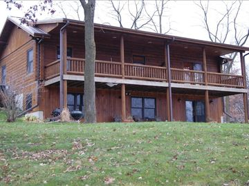 Apple River cabin rental - Stay at Indian Springs, stroll with nature, hear the tinroof taps of raindrops.