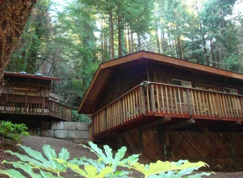 2 Unique Cabin 39 S In The Magical Redwood Vrbo