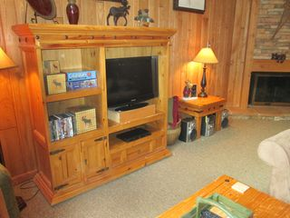 Copper Mountain condo photo - Entertainment Center with new 32 inch flat screen