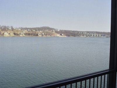 This is a small portion of the beautiful  view taken from the deck patio