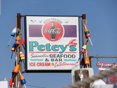 Petey's! (What more can you say) 11/2 mile from house.