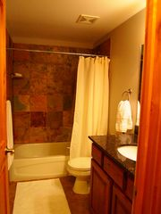 Bear Hollow Village condo photo - Guest Bath - Slate Shower