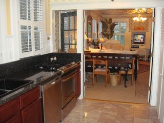 Charleston apartment photo - Gas Stove, Marble Floors and Granite Countertops: AptB