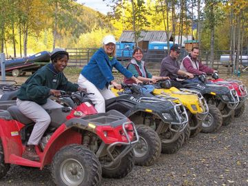 Guided ATV 4-Wheeler Tours by Denise Ferree