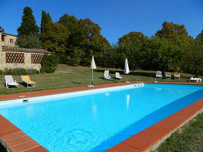 Fontani Independent house for rent with swimming pool in Chianti - Tuscany