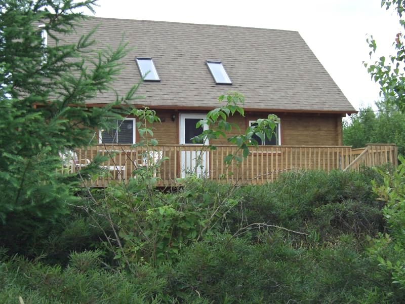 Authentic log home close to all vrbo for Long pond pa cabin rentals