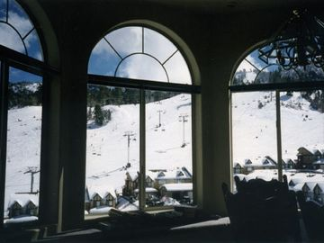 View of slops from the great room