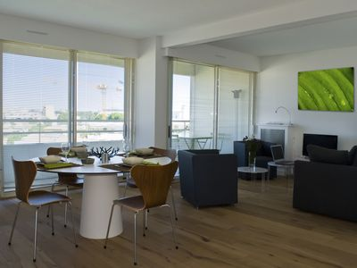 A luxury apartment rated 4 * in Montpellier