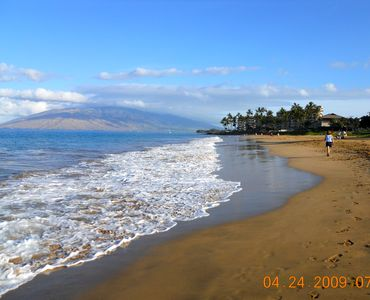 Another beautiful day in Maui!  Come and  walk the breath taking beachs!